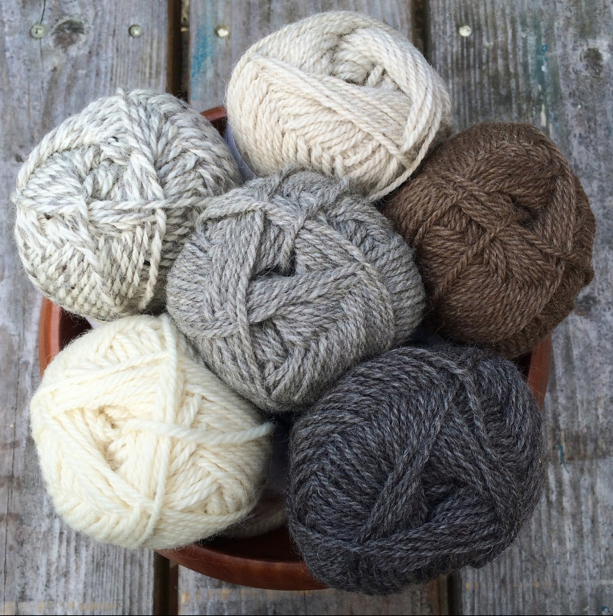 Midwinter Yarns new Suomivilla Aran-weight Finnish wool