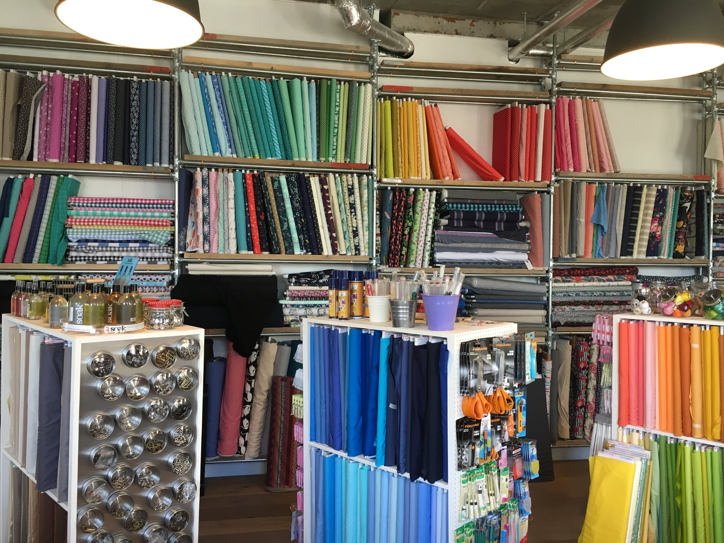 Even more fabric to tempt those who are multi-craftual!