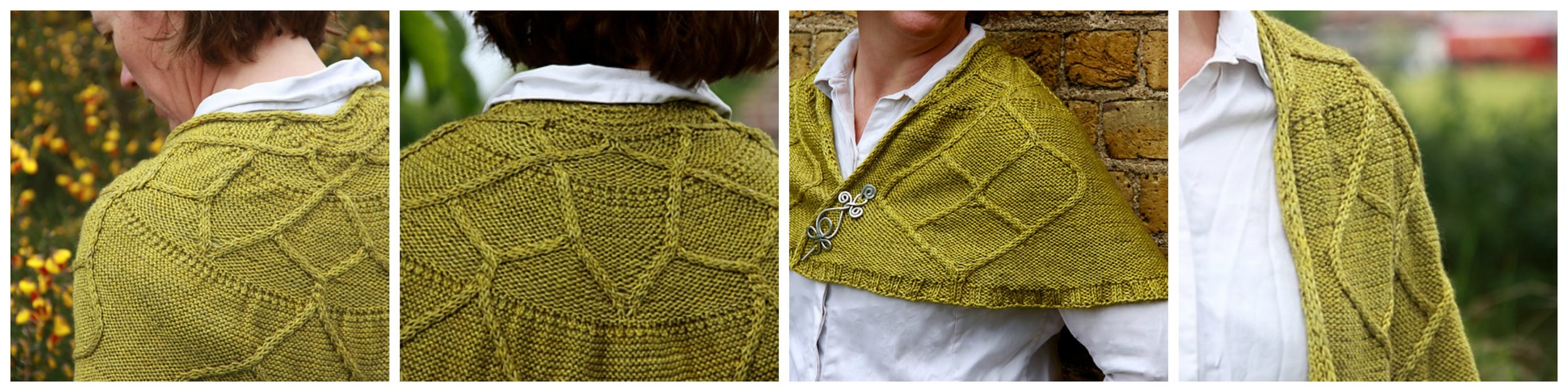 Rachel's latest pattern has launched as part of Kettle Yarn Co.'s Teheda Collection. The Dorado shawl is knit in Beyul DK and you can  download the pattern on Ravelry !