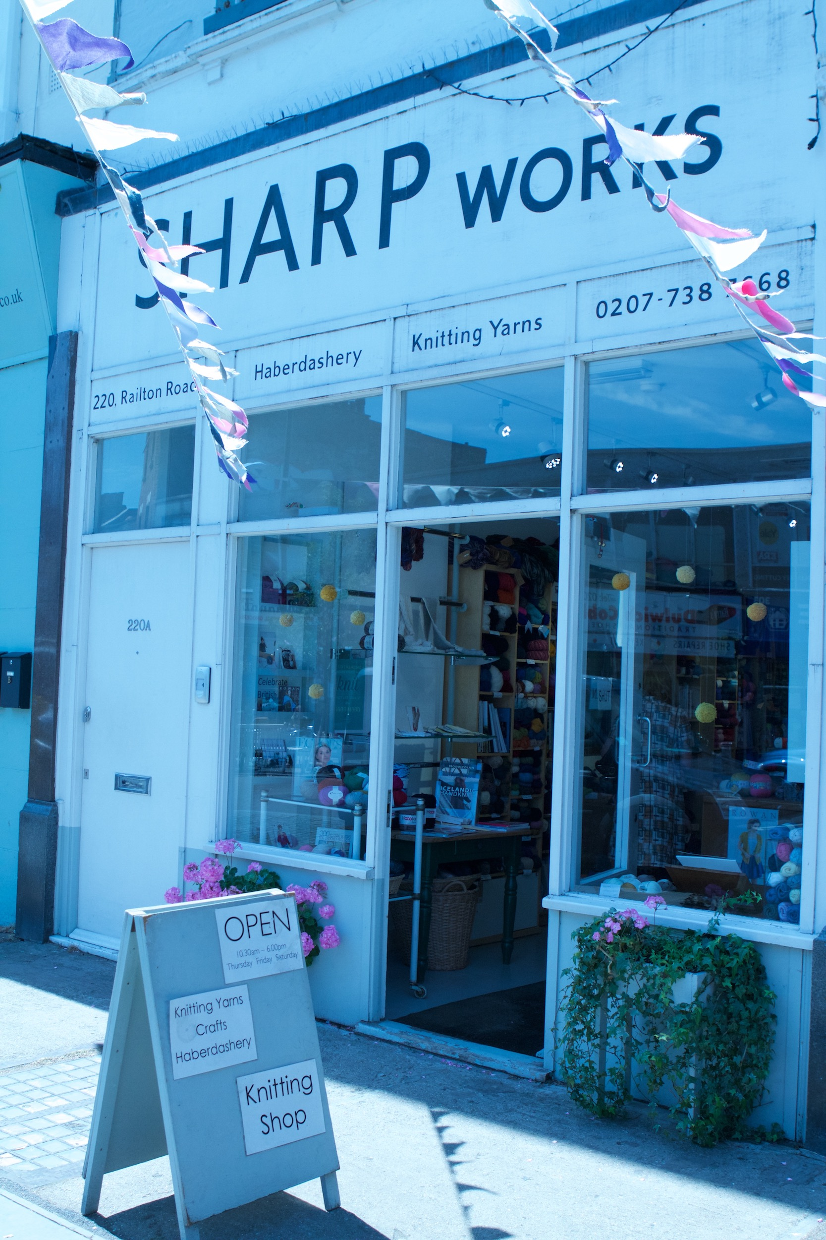 Sharp Works can be found in charming Herne Hill, south London