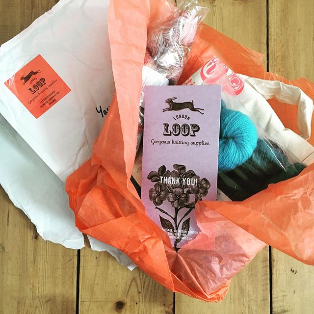 Gorgeous door prize goodies from @looplondonloves have arrived today at YITC HQ! Thank you Loop! Do you have your passport yet for this year's 8-day Great London Yarn Crawl extravaganza? Links to details and tickets in our profile. #greatlondonyarncrawl #greatlondonyarncrawl2019 #lovelocalyarn #lovelocalyarnshops