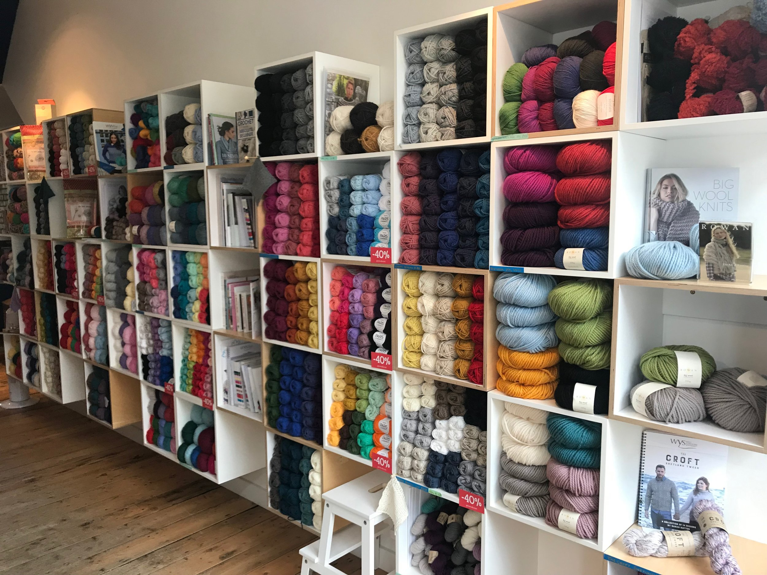 Lots of choice awaits at Slipstitch!