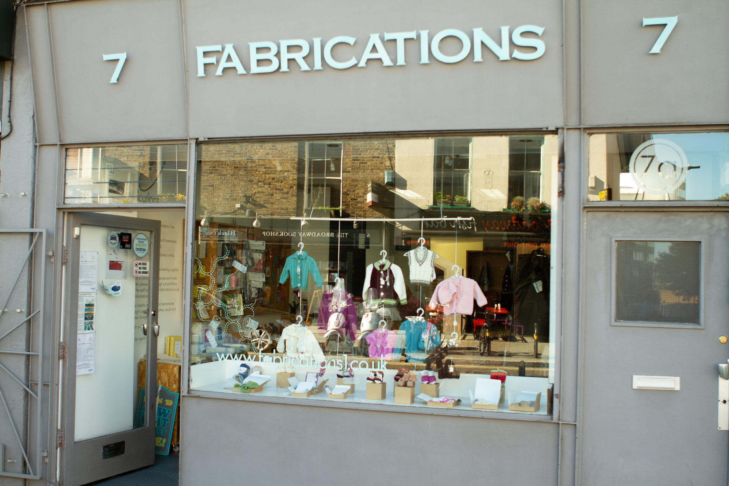 Tucked into Broadway Market you'll find Fabrications!