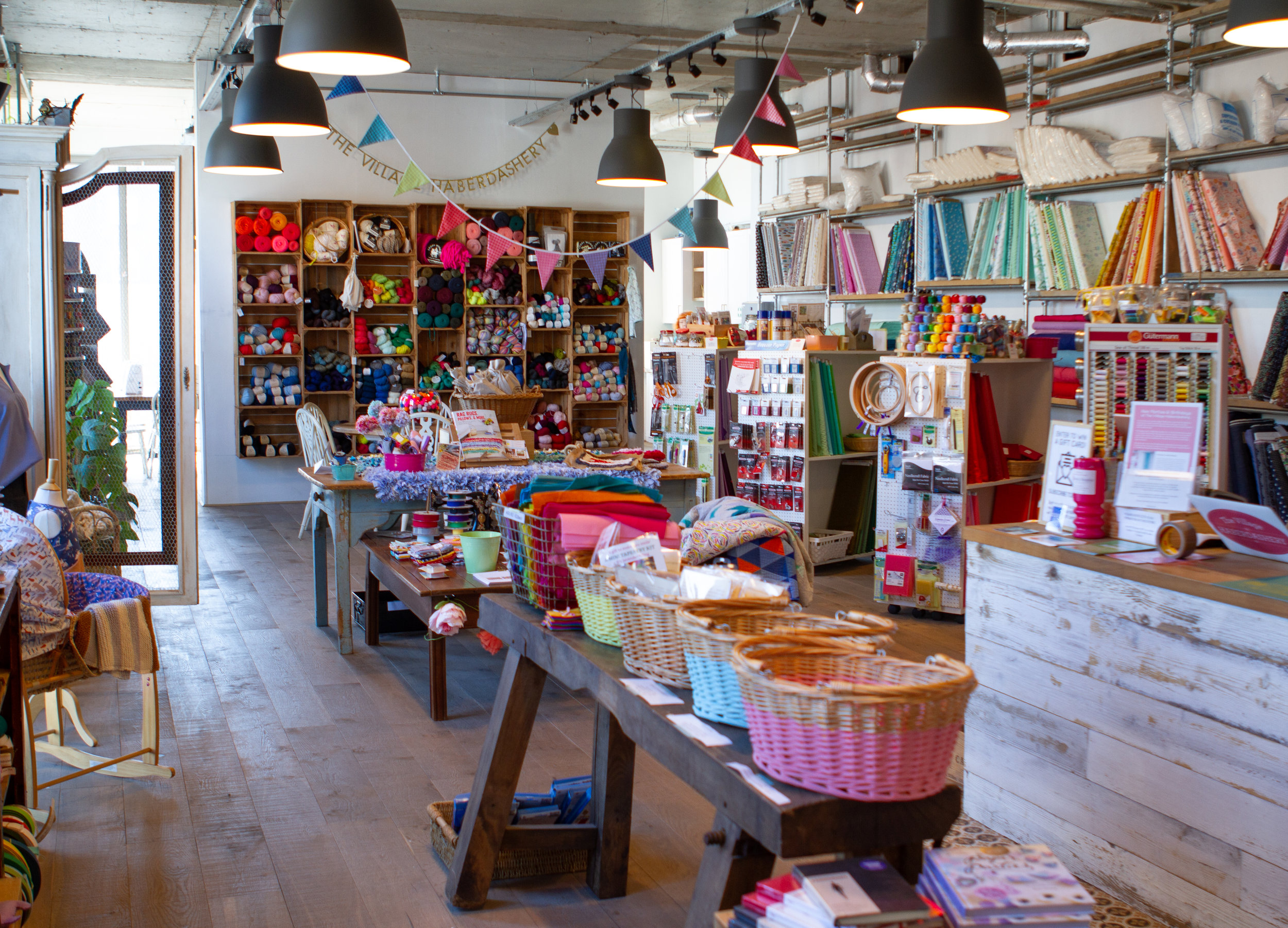 A colourful cornucopia of craft awaits at The Village Haberdashery