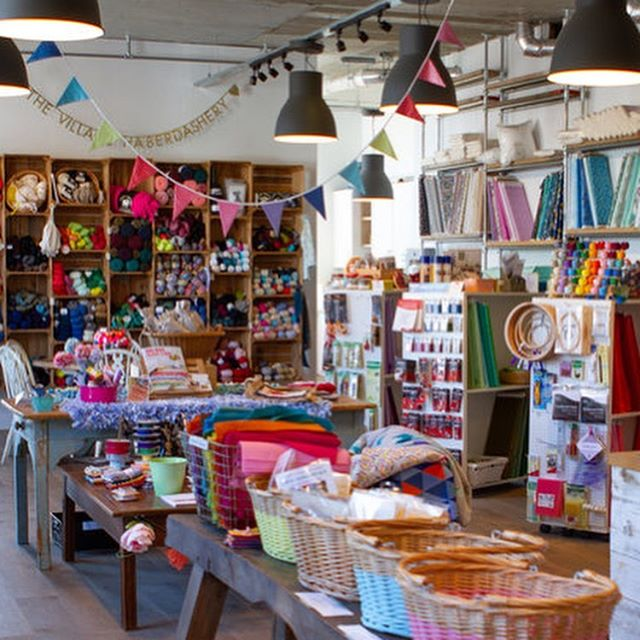 Are you a multi-craftual yarn crawler? If so you won't want to miss @thevillagehaberdashery on the Great London Yarn Crawl this year. They truly have something for everyone! They've got a special scarf workshop with @qingfibre planned for 1st September (GLYC kick off day!) and are making their own donation to Refuge too! More details in the shop profile on our blog today. Link in our profile!! . . . #greatlondonyarncrawl #glyc2019 #lovelocalyarnshops #lovelondonyarnshops