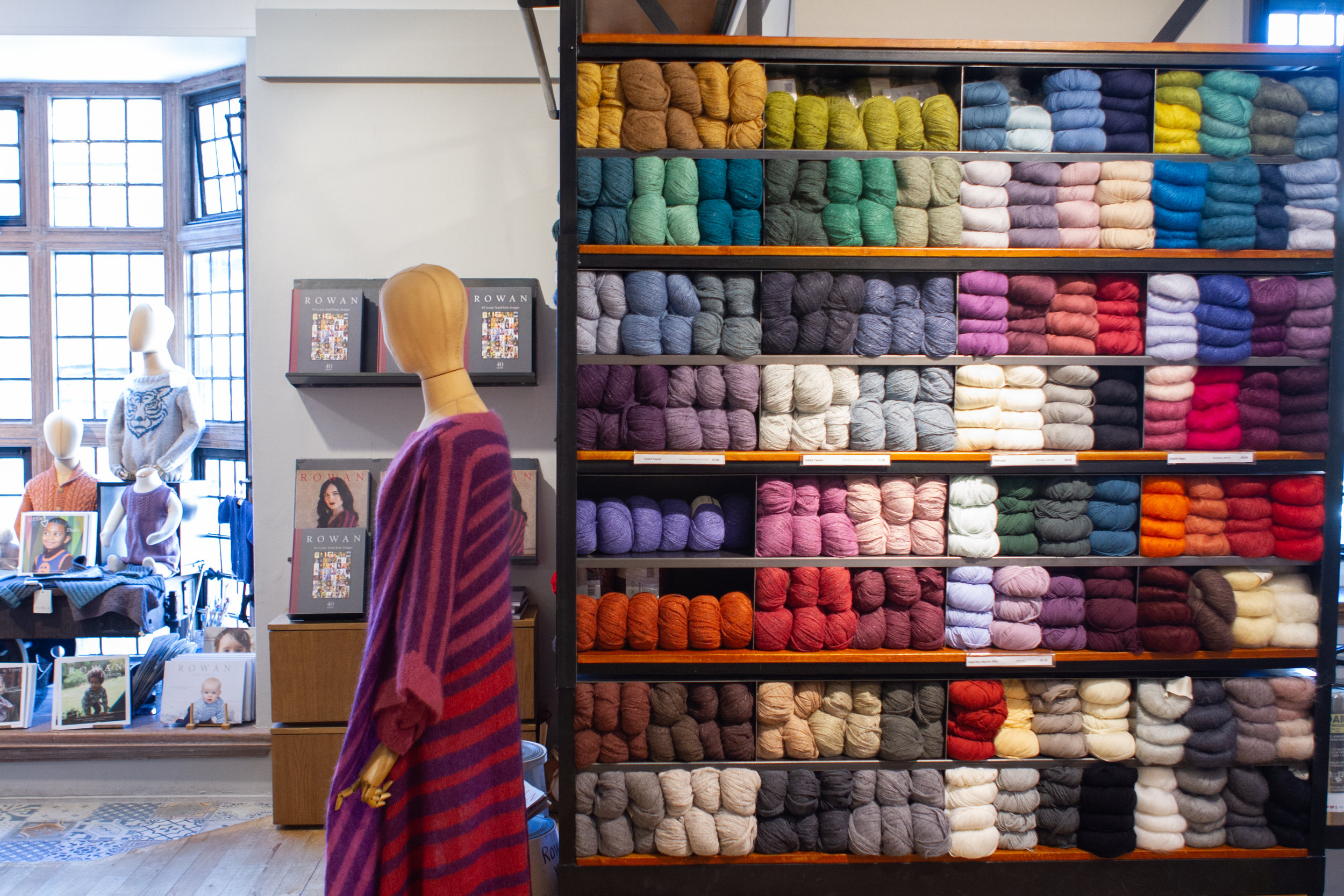Colourful yarns from Rowan are bound to help you find the perfect project.