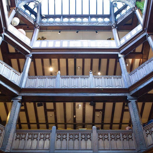 Iconic is the only way to describe @libertylondon, the next GLYC shop profiled on the blog today. From the atrium to the Tana Lawn to the shelves of Rowan this is a haven for crafters. See the link in our profile to read all about it! - - - #libertyoflondon #greatlondonyarncrawl #glyc2019 #lovelocalyarn #lovelocalyarnshops