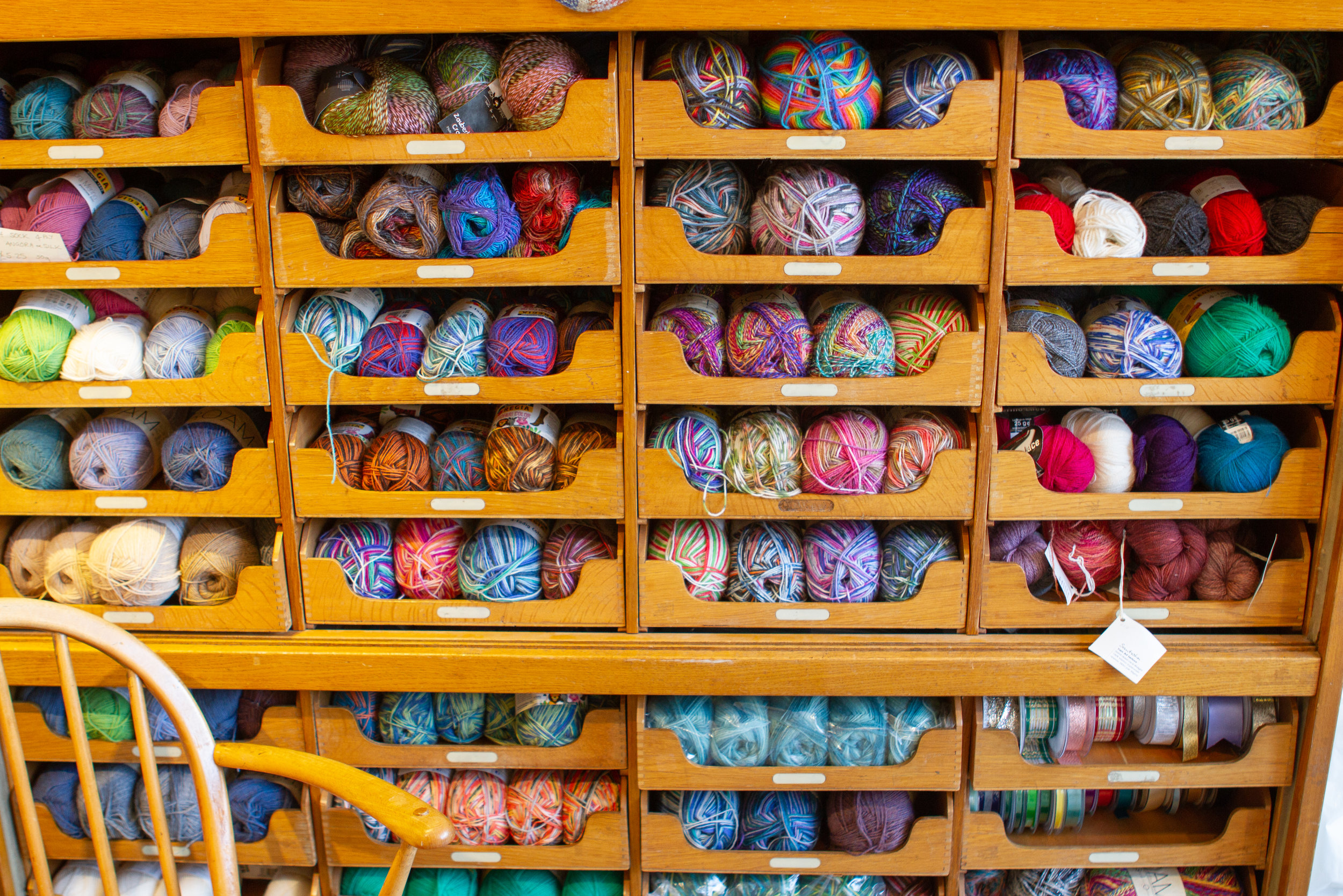 Sock yarns aplenty!