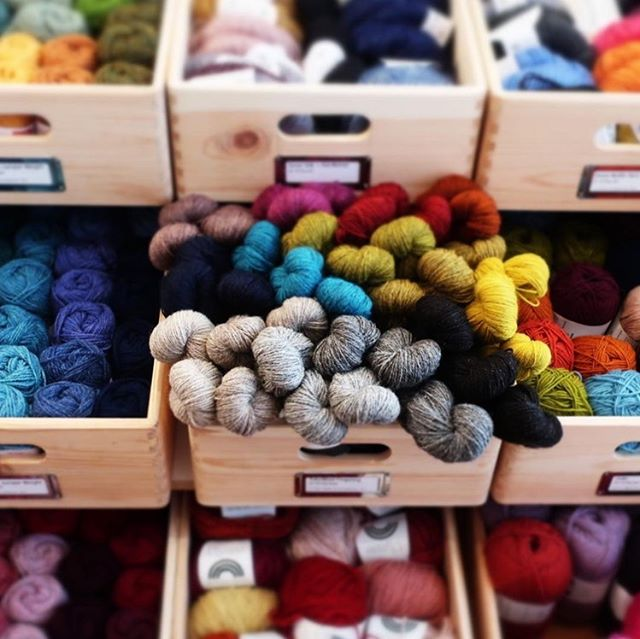 Not long to go now! Are you ready for this year's Great London Yarn Crawl starting this Sunday, 1st September? We've got a new blog post up today with a few route suggestions for you! Don't forget to also check our Ravelry group to see about meet ups and chat with others who are crawling too! And please tag us in any photos! We can't wait to follow along with your adventures!! First 📷 here from @wildandwoollyshop . . . #greatlondonyarncrawl #glyc2919 #yitcyarnadventures