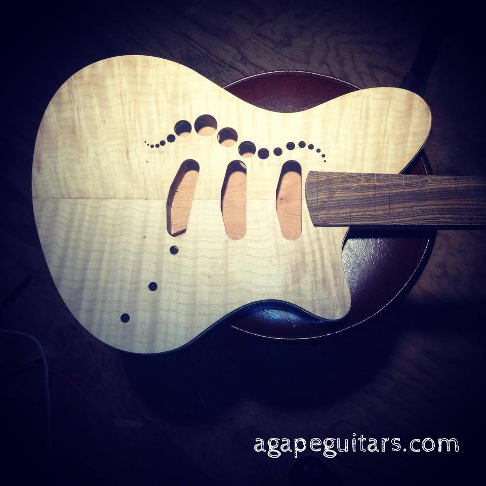 Maple top with f-bubbles