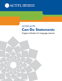 can-do statements