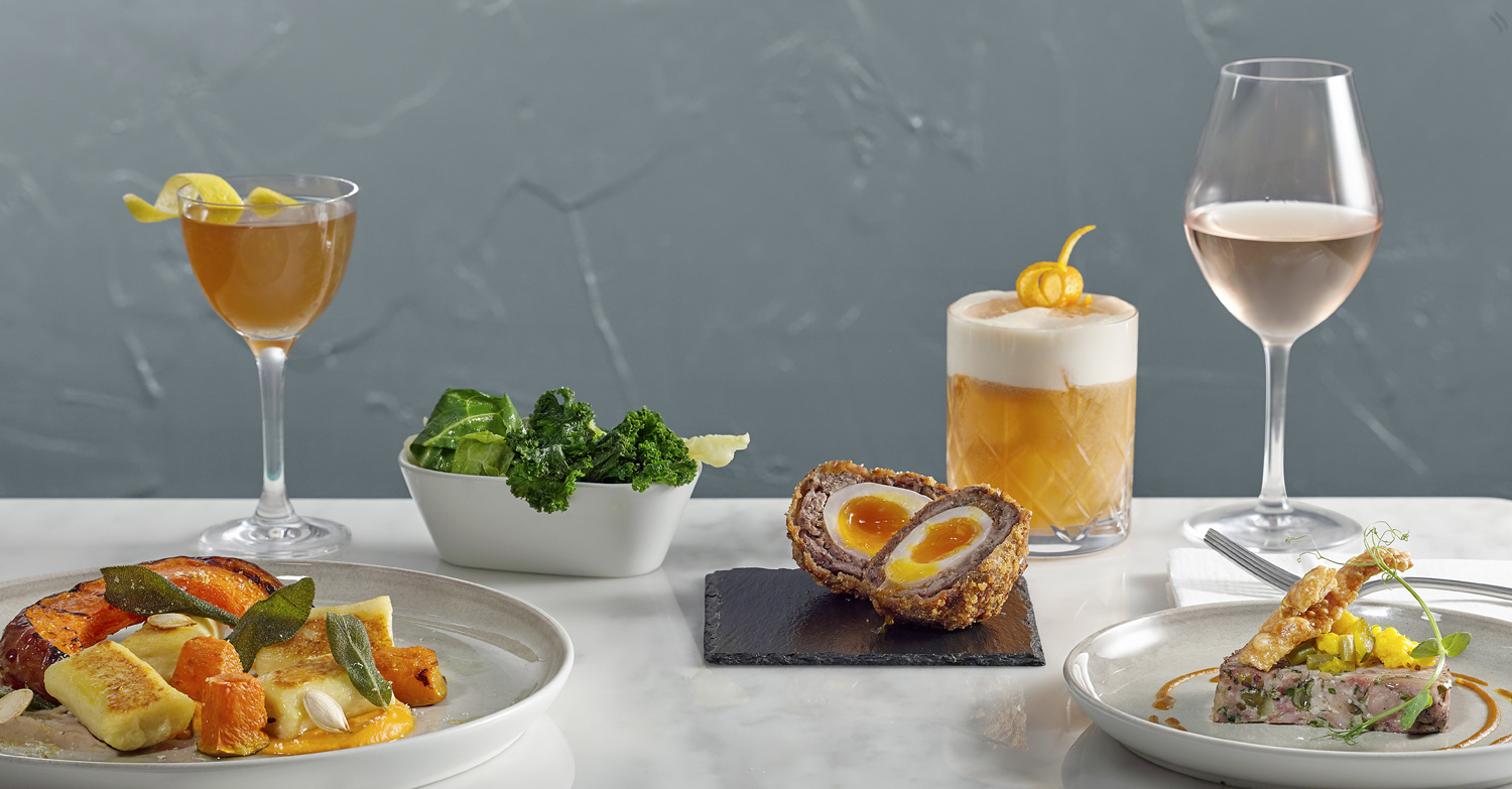 Food photography for restaurants in London. A collection of meals, drinks, cocktails and deserts. All completed by London still life food photographer  chris howlett