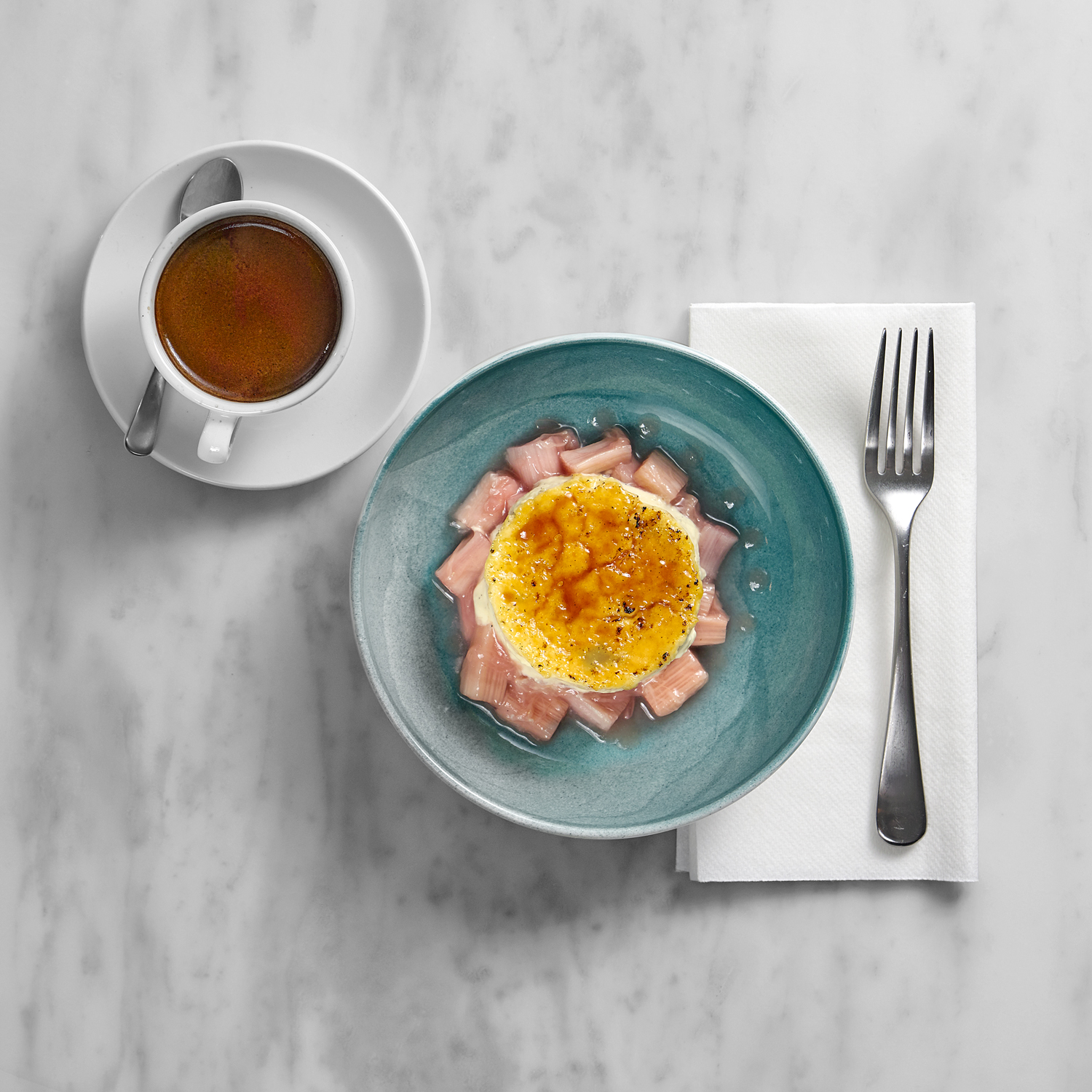 London food photographer chris howlett. Desserts and coffee make up this still life food photograph