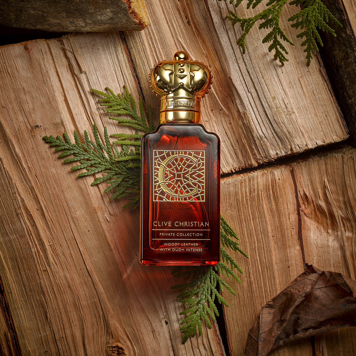 wood, bark, ferns, mens cosmetic fragrances. product photographer chris howlett