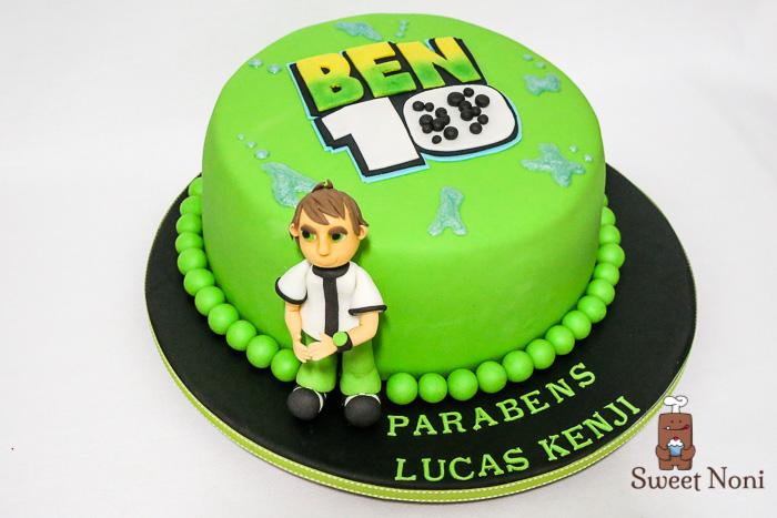 Ben 10 Cake For Lucas Kenji