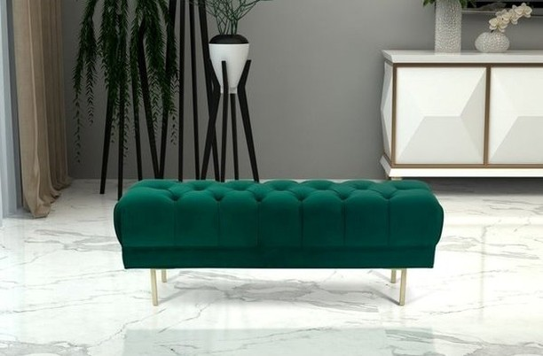 To say I'm obsessed with Emerald Green furniture at the moment is an understatement.  You can pair so many amazing colors with it!! -- Look at this beautiful bench I found at #wayfair for my client's basement reno.  I will post after pictures when we are done with the project. -- Did you know that green is the most calming of all the colors on the color wheel?  It encourages growth, reflection, peace and balance. -- It's a New Year.  Sprinkle a little more #Green in your life!  #basementrenovation #renovation #inspireddecor #xosurroundings #color #colorpops #momlife #organize #design #rslove  #gorgeous #home #rsorganizing #homeinspiration  #moms #cleartheclutter #personalorganizer #homeinspiration #declutter #organizedhome #organizingideas #sunsetmag