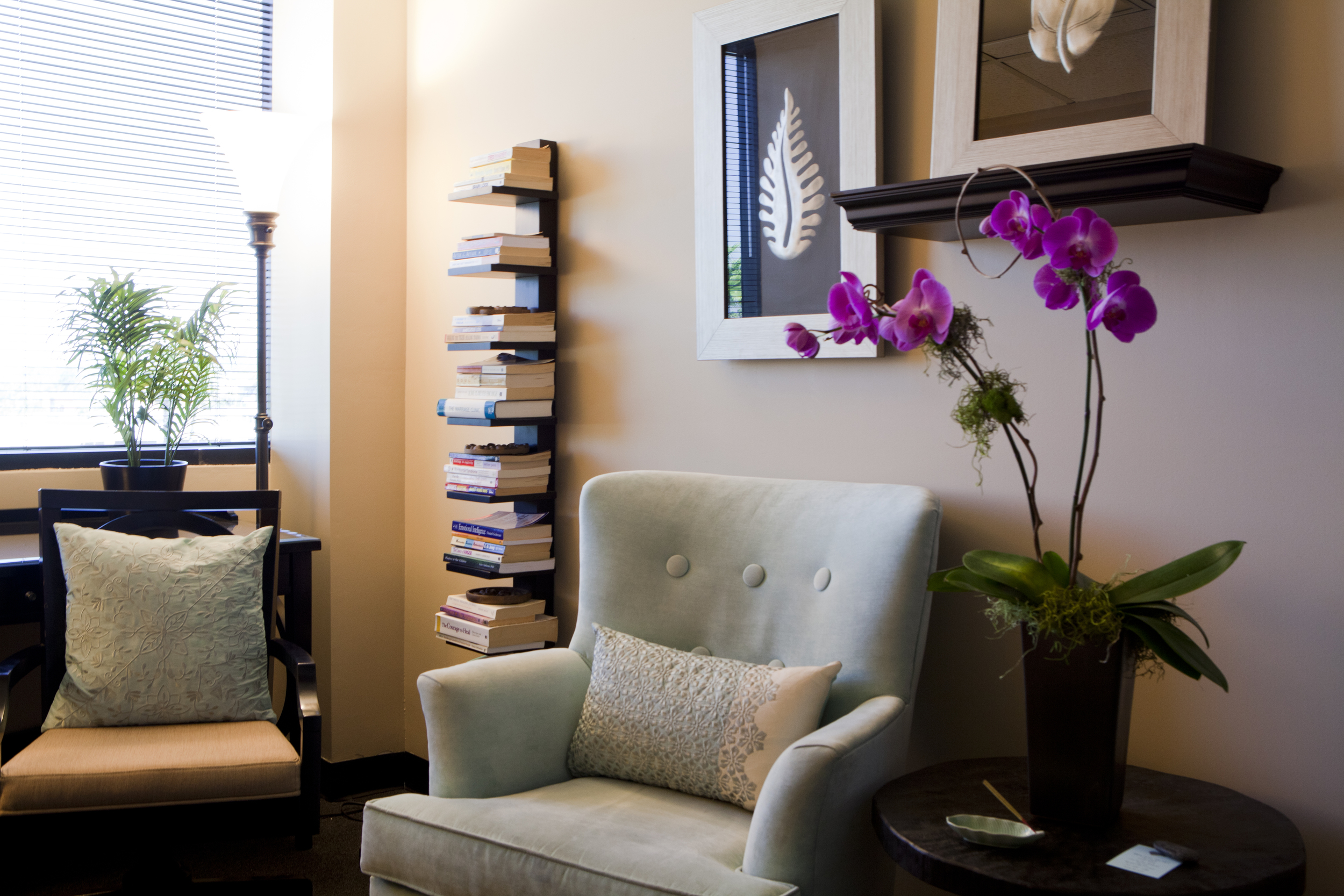 My counseling office in Sherman Oaks, CA and I also provide phone or video counseling sessions.