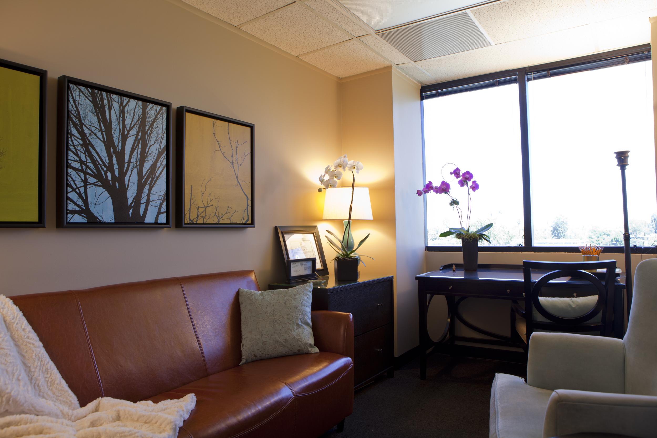 My counseling office in Sherman Oaks, CA.