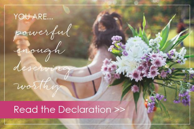 Find Your Flourish™ Declaration