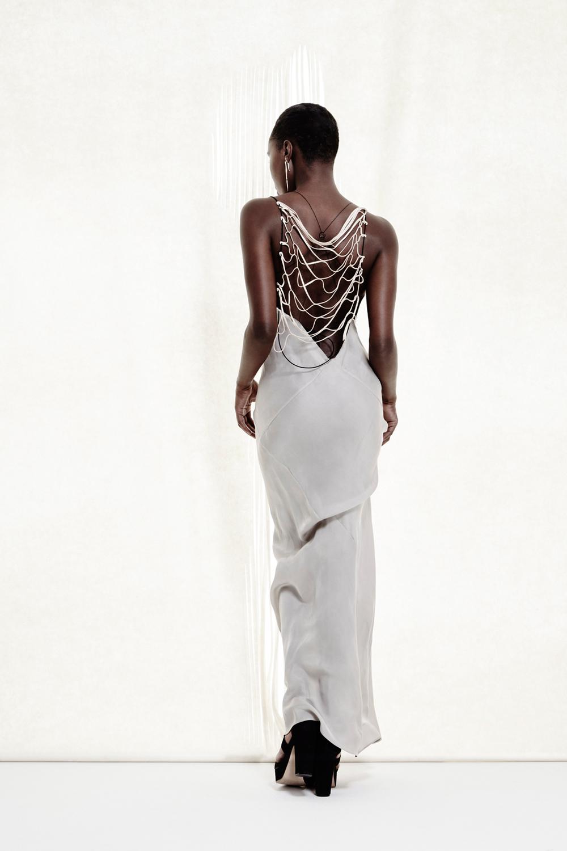 Naiad Dress +Lattice Top (worn on  back)