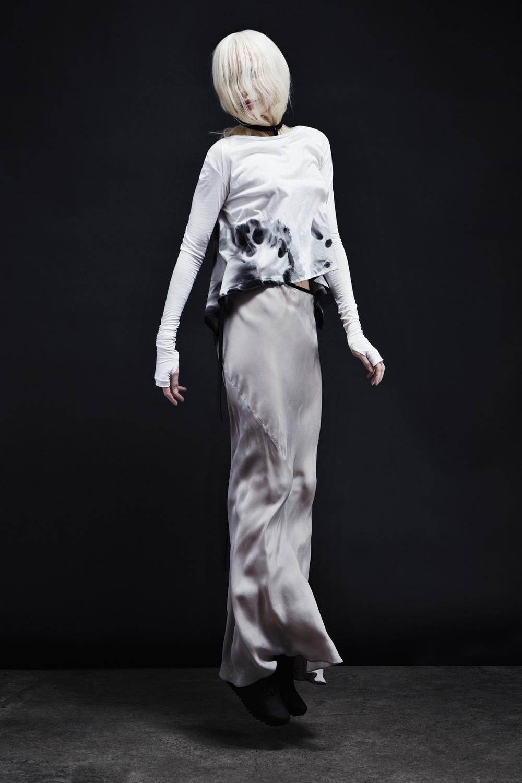 Avalanche Tee + Waterfall Skirt + Flight Harness
