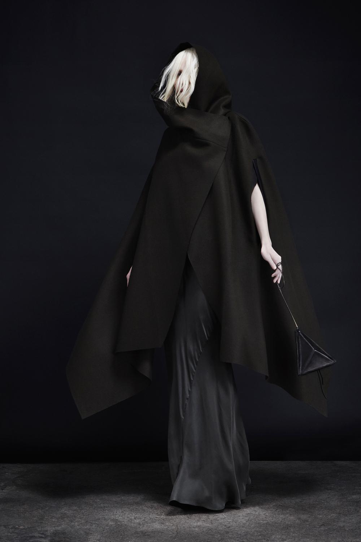 Occult Cape + Nebula Dress + Trinity Cross-body