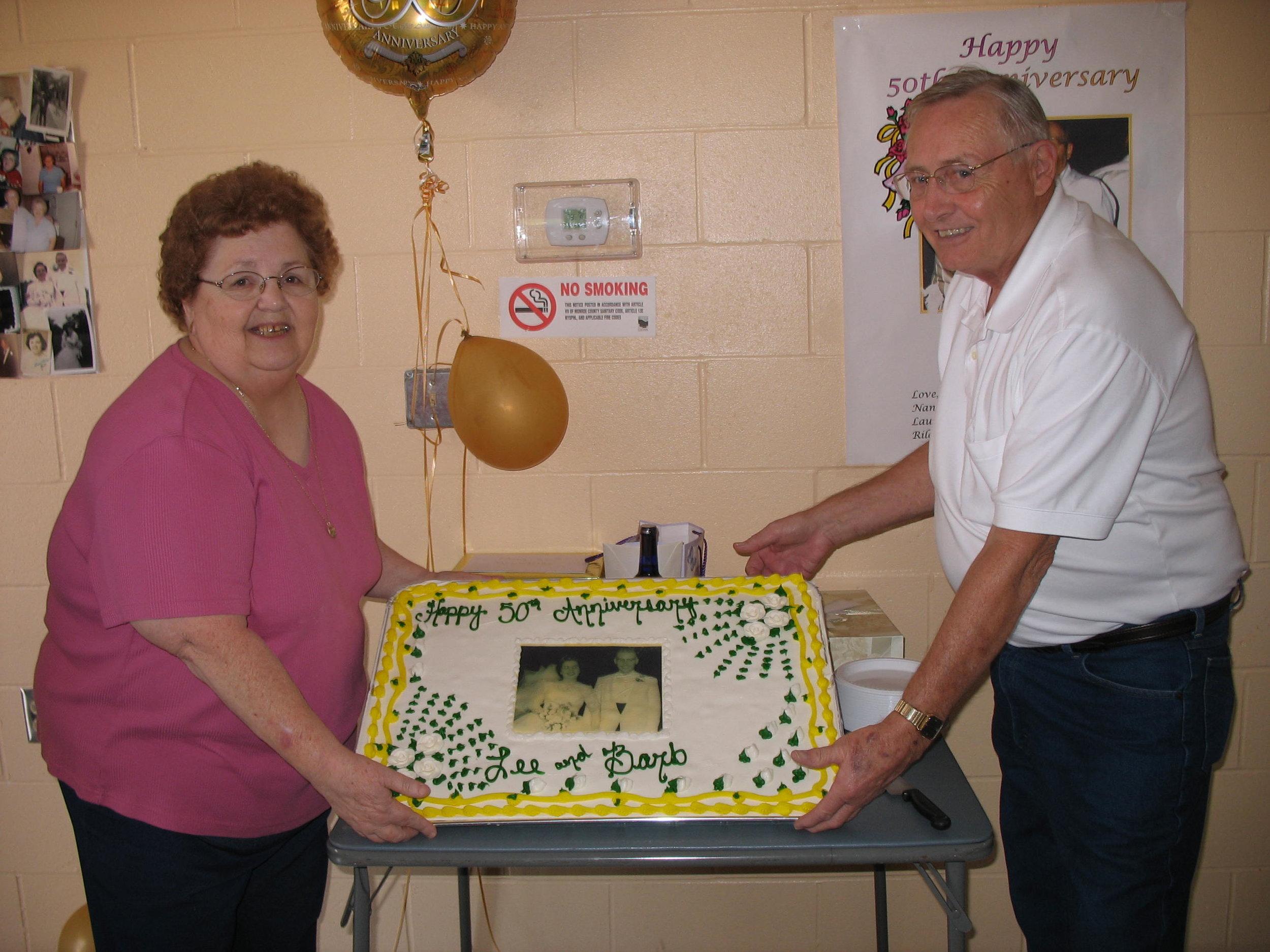Nana & Papa's 50th Anniversary - August 2007