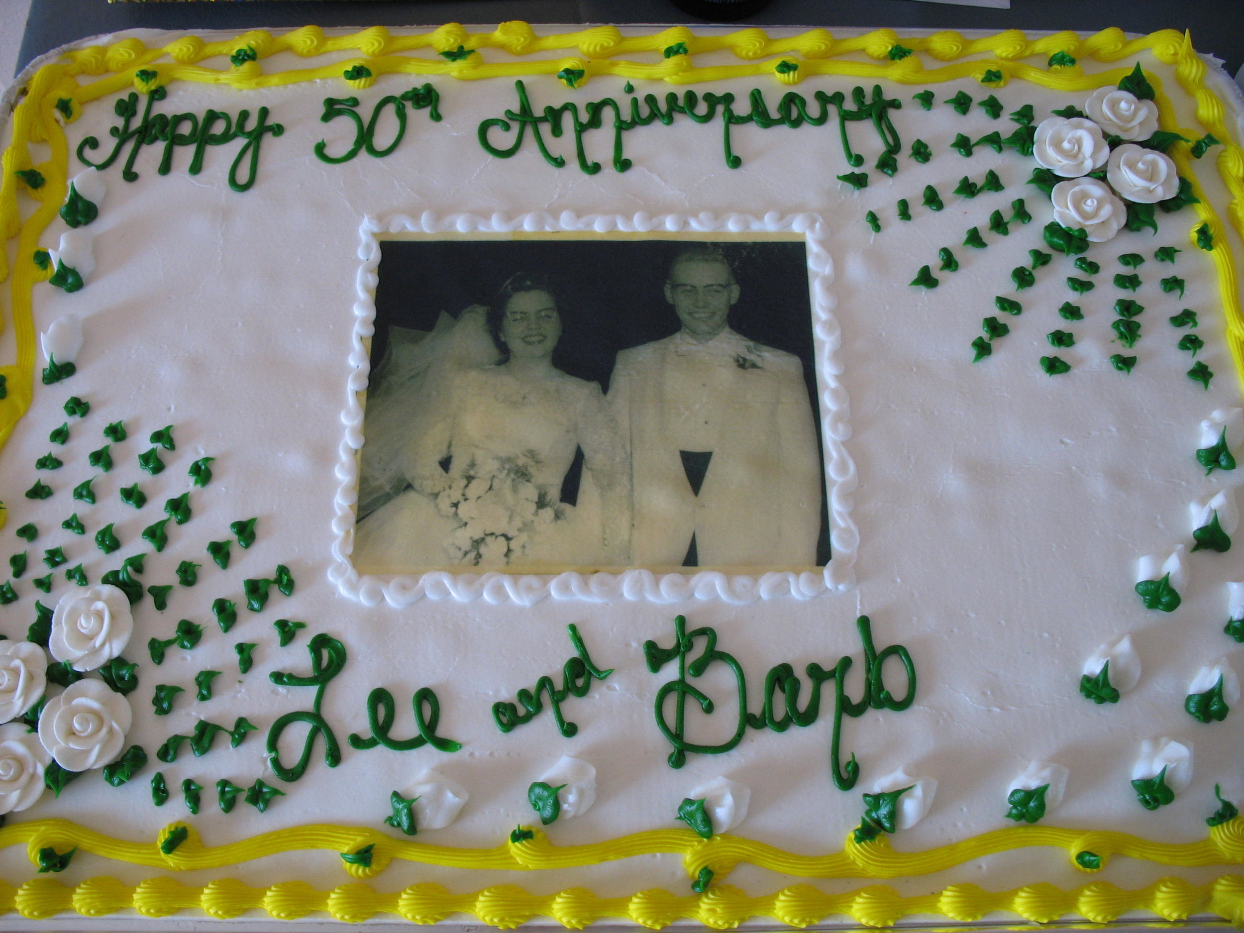 From their 50th wedding anniversary party - August 2007