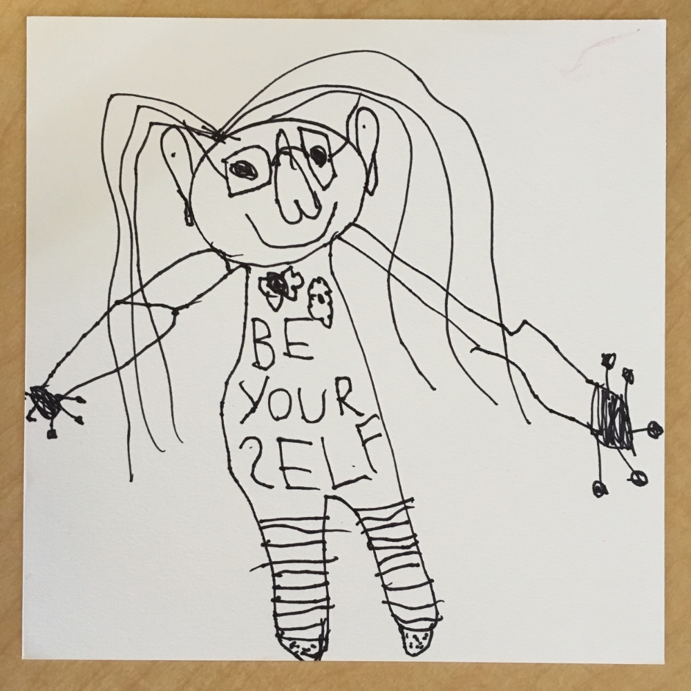 Self Portrait, Lysandra Age 5