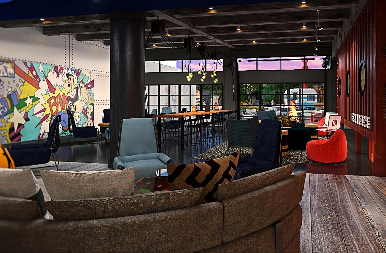 Lobby exhibition-piece