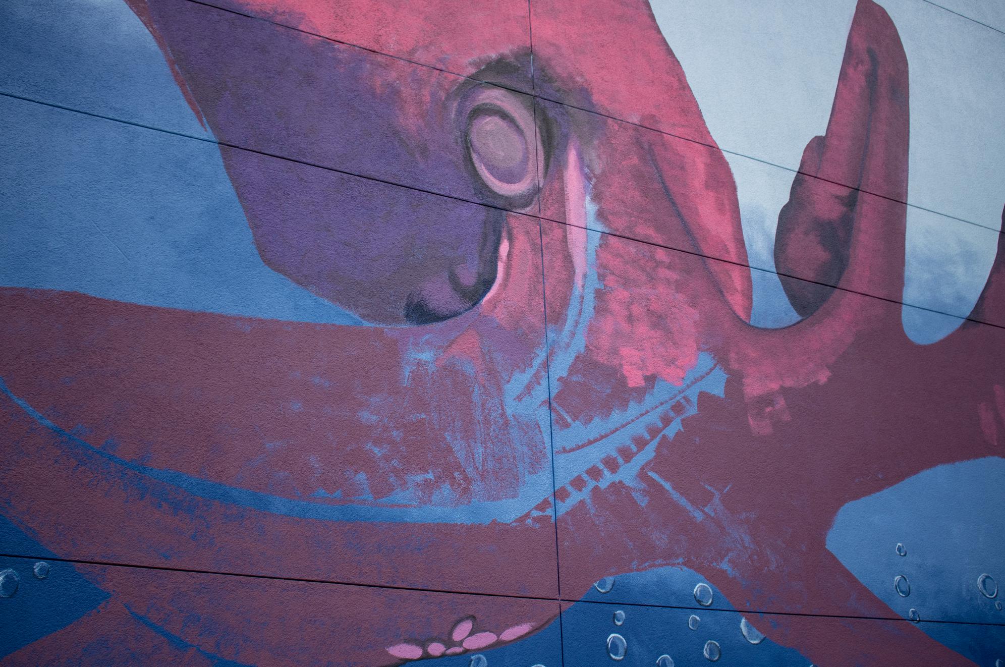 Zephyr Walk Mural at Hotel Zephyr