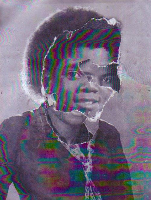Idols 1,  2012 , Print, digitally manipulated collage
