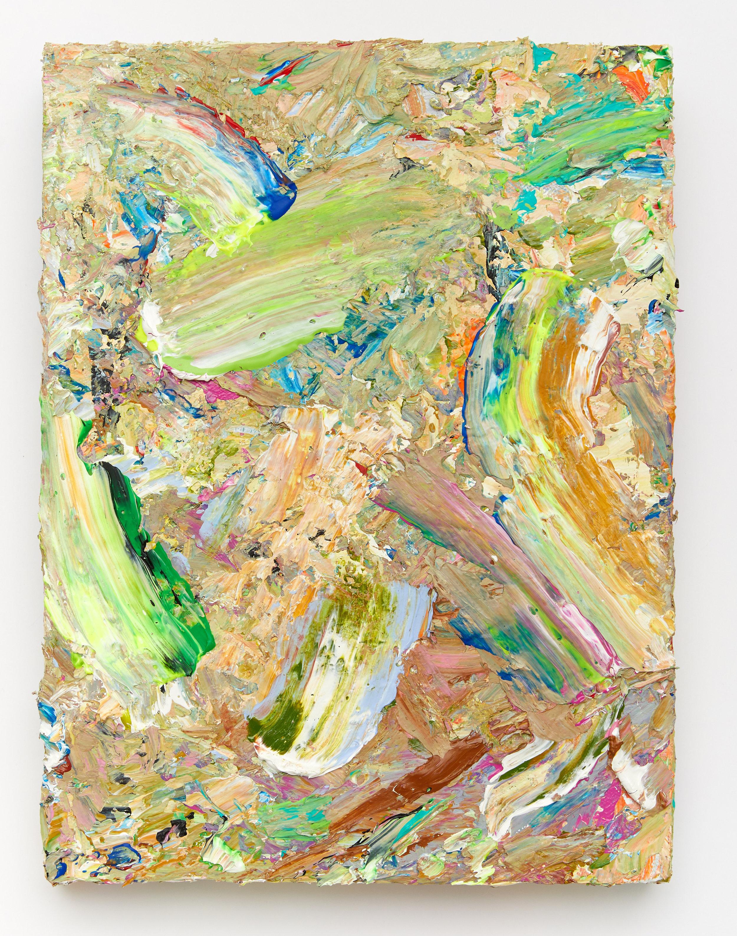 I Arted #1,  2018 / acrylic on canvas