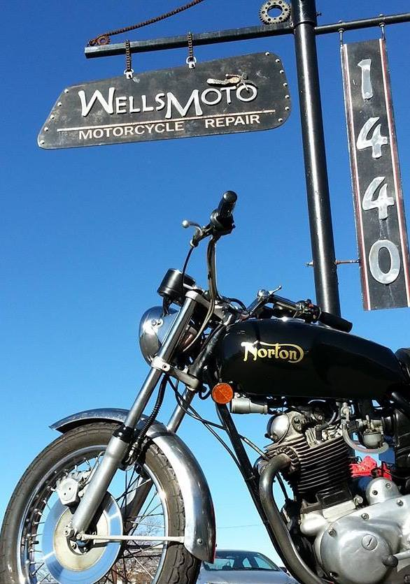 Wellsmoto Motorcycle Repairs & Customs