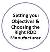 Chapter 2: Setting Your Objectives & Choosing the Right RDD Manufacturer