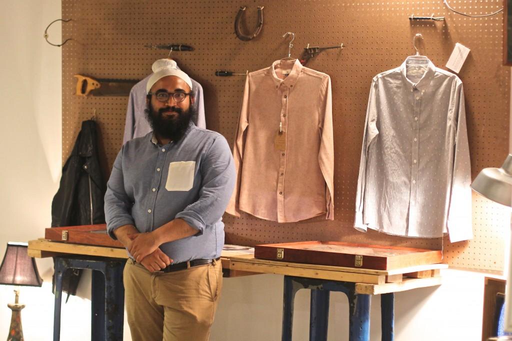 Founder Teghvir Sethi at the .Bk launch