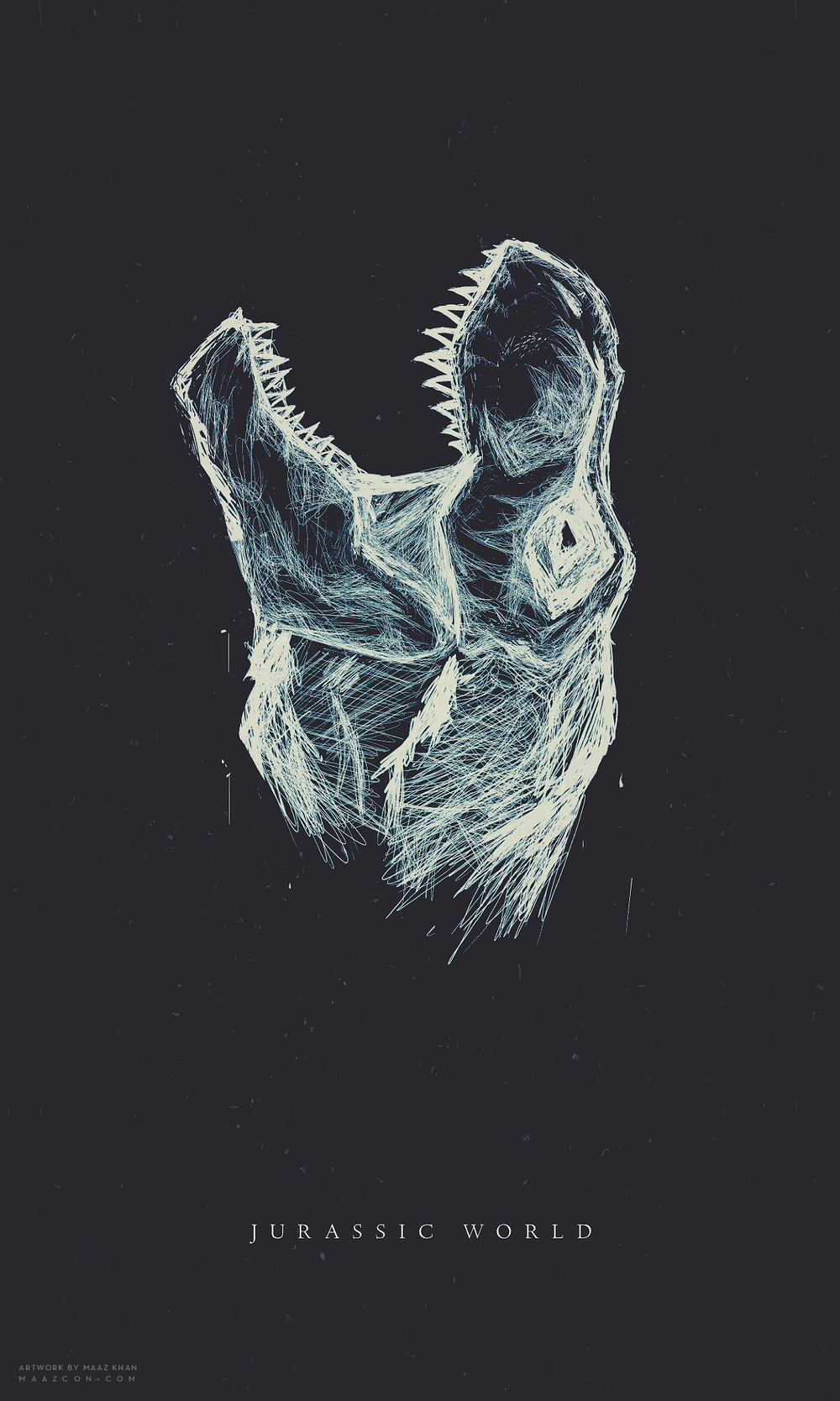 JURASSIC WORLD  [TYRANNOSAURUS]  (2014)