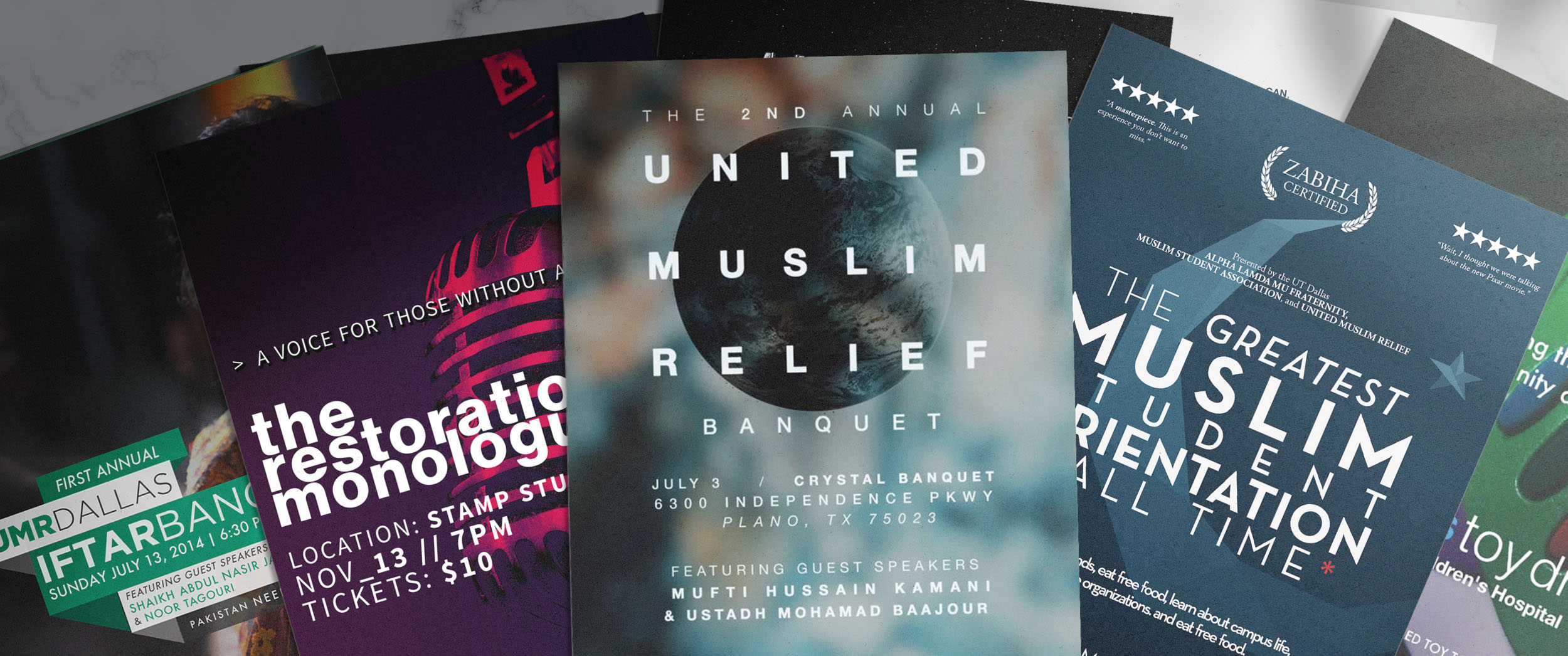 United Muslim Relief - Graphic Design + Campaign Strategy