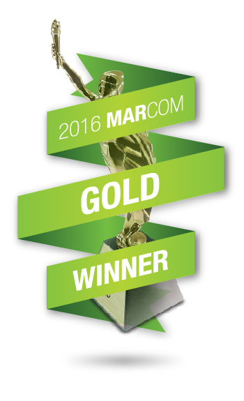 Gold marcom award .jpg