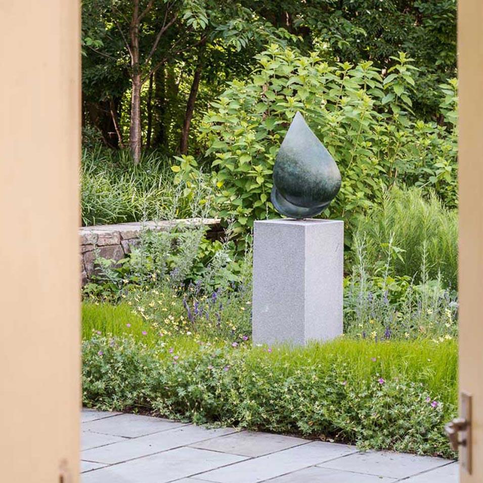 Sculpture Garden Landscape Architecture, Belmont, MA