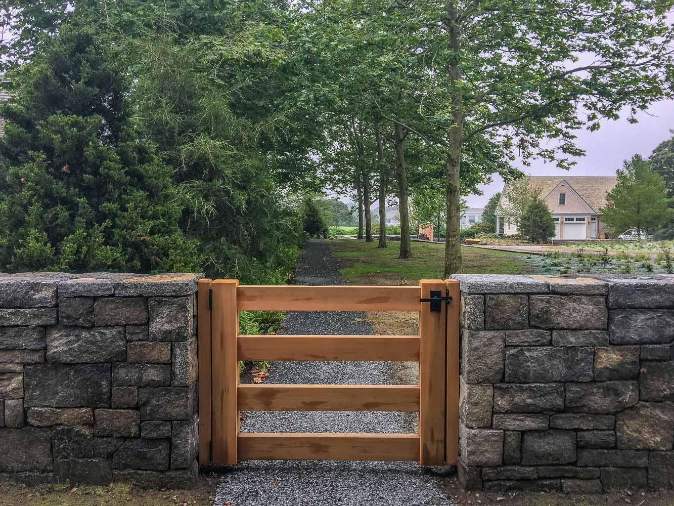 Granite Walls and Gate