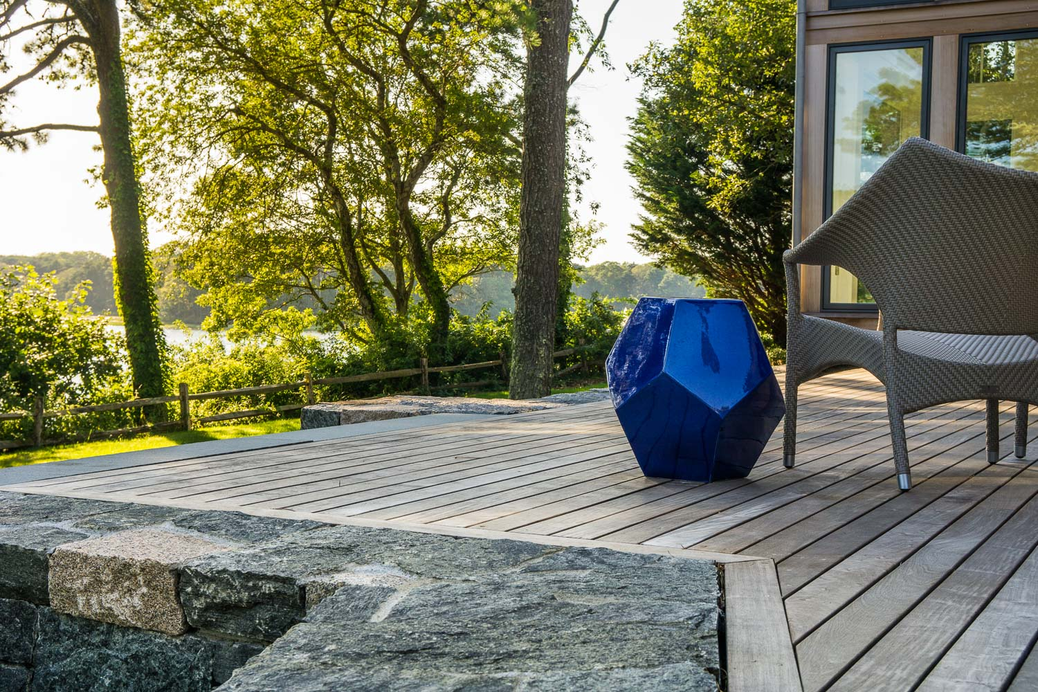 The Landscape Design of Kimberly Mercurio Featured in New England Home Magazine.