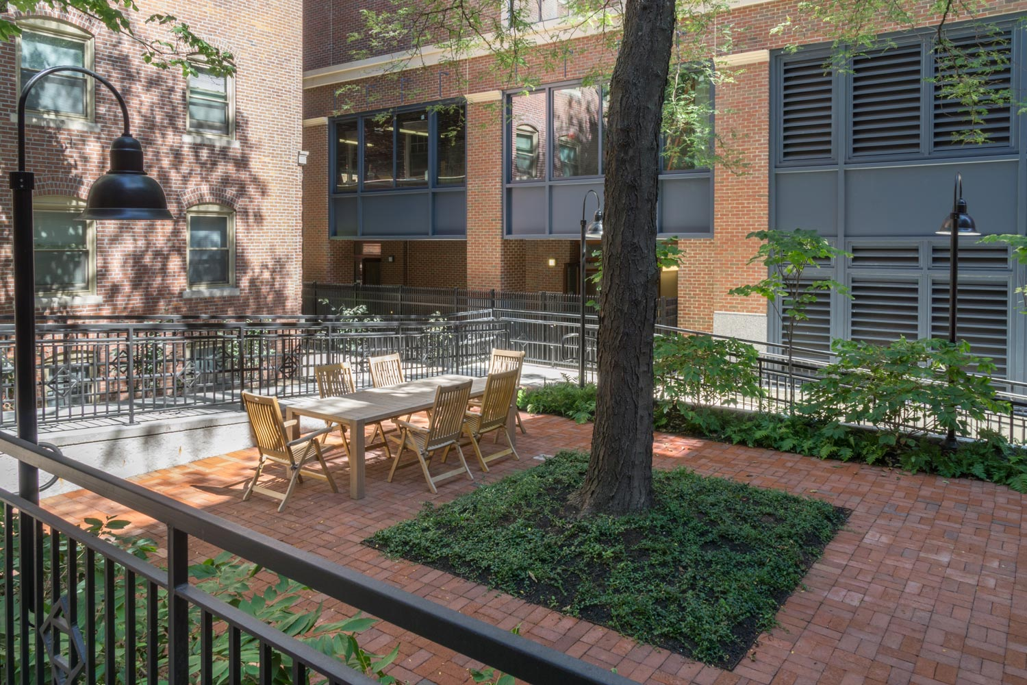 Landscape Architecture for Mixed-Use Affordable Housing