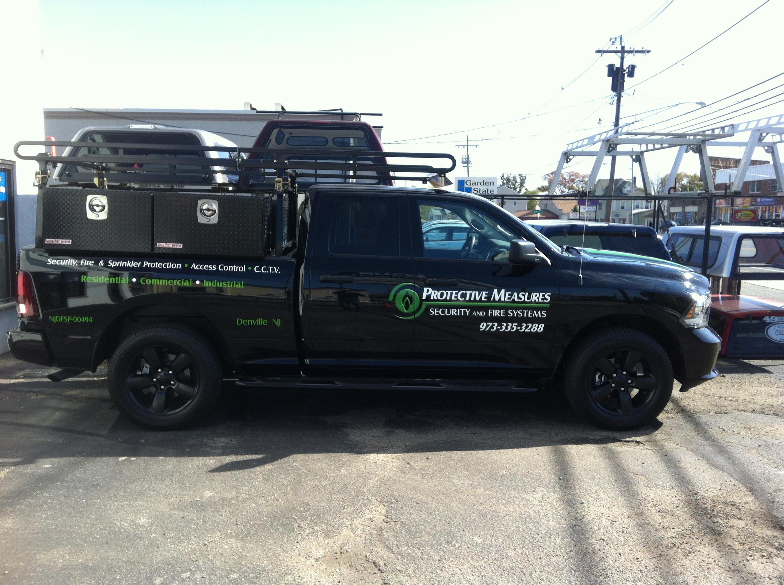 Weatherguard Ladder Rack & Toolboxes