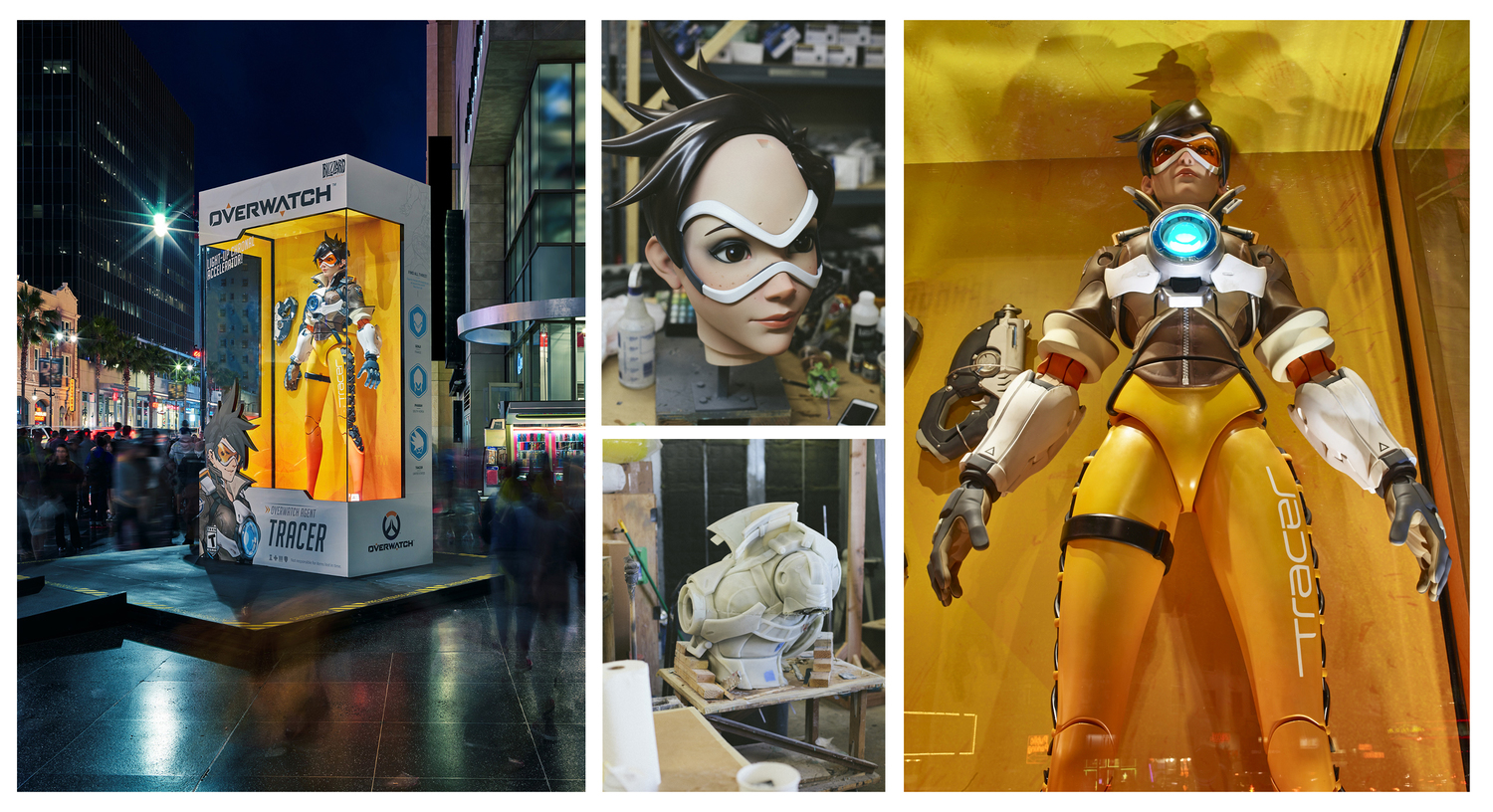 Tracer in Hollywood, USA