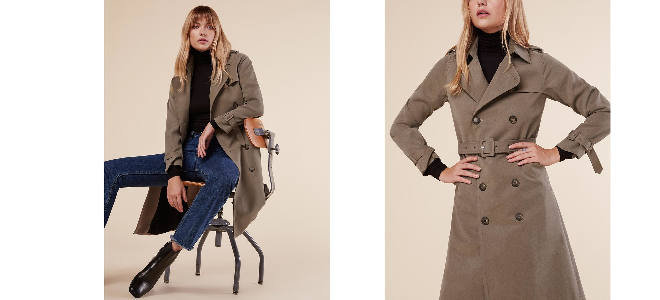 Reformation Mod Trench in Sand