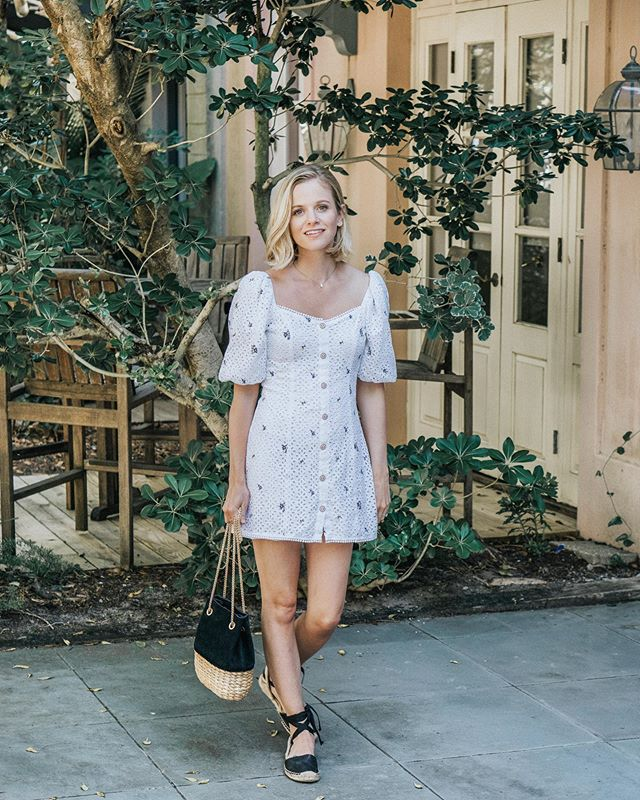 the best little white dress ☀️ http://liketk.it/2BXvl #liketkit @liketoknow.it