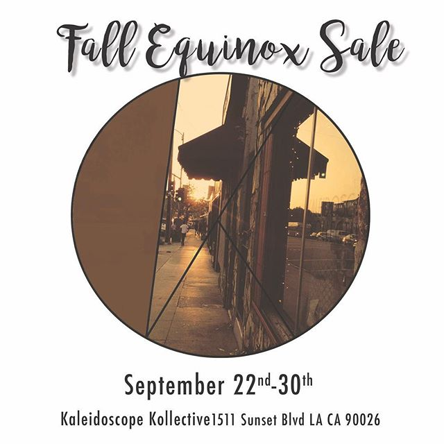 Last weekend of the  Fall Equinox Sale 🍂  Come in and receive 15% now til the end of September on all items from our 5 Kaleidoscope creatives: @my_style_wagon  @delalunadesigns  @karlita_designs  @patchouli_nomad  @sunqu_misti_jewelry  #huaraches #vintageclothing #oneofakind #vintagestyle #chiapasmexico #textiles #shopsmall