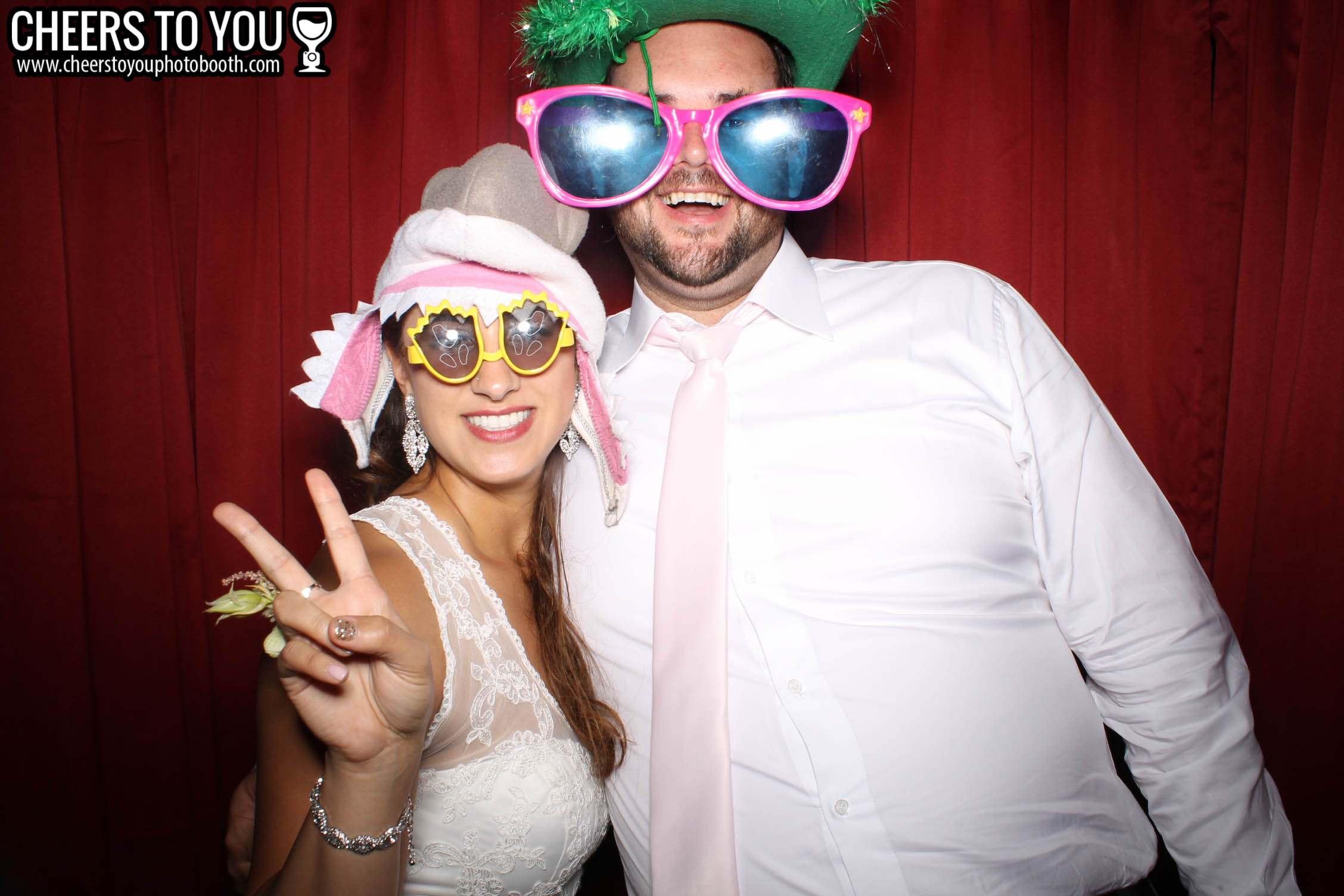 Cheers To You Photo Booth | Huntington Beach, CA | Loretta & Justin's Wedding