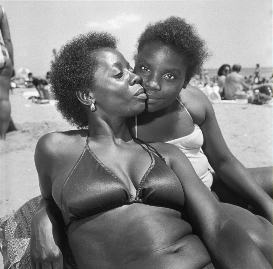 Mother and Daughter. Brighton Beach.jpg